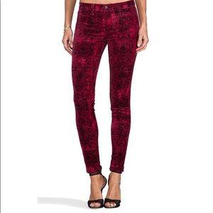 J Brand Annatolla Print Super Skinny in Gaya